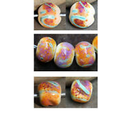 Daydream - Handmade Glass Lampwork Beads SRA MTO - Choose Shape