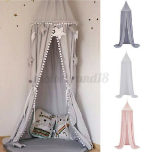 Round Ball Children Bed Canopy Bedcover Mosquito Net Curtain Bedding Dome  NEW