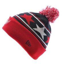 Bonnets rouge New Era pour homme