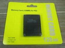 Ps2 128Mb Memory Card - High Speed 128Mb Memory Card for Sony Ps2 Playstation 2
