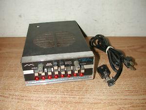 VINTAGE REGENCY 8 CHANNEL HI/LO MONITORADIO SCANNER MODEL TMR-8 WITH POWER CORD