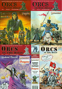 Flintloque/Slaughterloo 'Orcs in The Hills' Gaming Mags Singles & Bargain Bundle