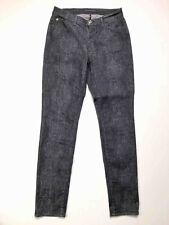 TRUSSARDI Jeans VINTAGE '80 Women's Jeans Trousers Python Woman Pant Sz. L - 46