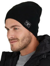 BRAND NEW TAG BILLABONG MENS TEEN S BOYS 2 WAY BEANIE CAP HAT BEDFORD BLACK BNWT