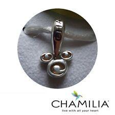 Chamilia silver 925 rare retired Mickey swirl Disney bracelet charm in box