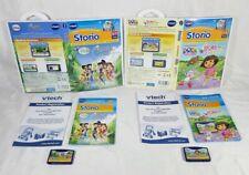Vtech Storio Games Bundle Tinkerbell Dora (2 Games)