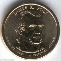 U.S.A. 1 Dolar James K. Polk 2009 P @ PRESIDENTE Nº 11 @