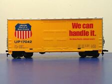 HO Scale Union Pacific UP 17042 High Cube Freight Train Box Car