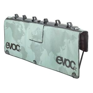 Evoc Pickup Tailgate Medium/Large Mid Sized Trucks Olive with Map Bike Pad