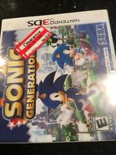 Sonic Generations (Nintendo 3DS, Brand New Factory Sealed