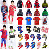 2PCS Baby Kids Boys Cartoon hero Hoodie Sweatshirt Tops Pants Jacket Outfits Set