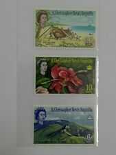 (RB 106) 1963 Nevis Stamps , Set In 3 - MLH
