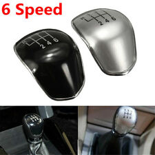 Silver 6 Speed Gear Shift Knob Cap Cover Ford Mondeo Galaxy Fiesta Focus Transit