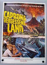 CAPRONA, das vergessene Land / LAND THAT TIME FORGOT * A1-FILMPOSTER-Ger 2-Sheet