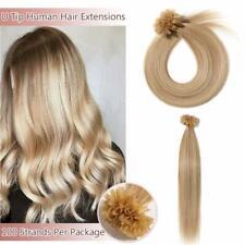 "Sunny Hair U Tip Pre Bonded Remy Huan Hair Extensions #60 Blonde 50 Grams 14"""
