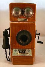 Vintage Jim Beam 1975 Telephone Decanter - Pioneers of America Collectible Empty