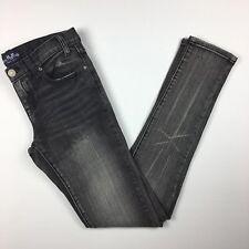 NEW Les Halles Size 26 Jeans Black Gray Wash Denim Skinny Leg Womens NWT