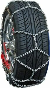Snow Chains P215/55R17 P215/55 17 ONORM Diamond Tire Chains set of 2
