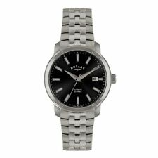 Mechanical (Automatic) Adult Rotary Silver Strap Watches