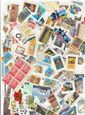 Stamps Australia 100 different booklet stamps including unissued 3d red pane 6