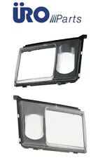 NEW Mercedes URO PARTS Headlight Door Set Left + Right With Lens for Fog Lamp