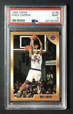 1998 Topps Vince Carter 199 PSA 9 Mint