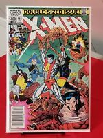 THE UNCANNY X-MEN #166 1st Apperance of Lockheed NEWSSTAND EDITION (1983)