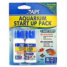 API AQUARIUM START UP PACK STRESS COAT & QUICK SAFE TROPICAL FISH TANK TAP  30ml