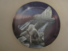 Wolf collector plate Nightfall Kevin Daniel Profiles Of The Pack #3