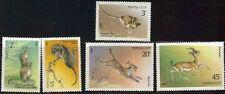 RUSSIA 1985 SC#5388-92 WWF EHDANGERED WILDLIFE 5 STAMPS MNH