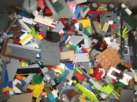 LEGO Legos 100 lbs Pounds Bulk Lot of ASSORTED COLORS & PIECES