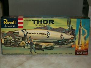 """Revell 1/110 Scale Thor & Thor-Able Missiles, Original """"S"""" Box Release"""