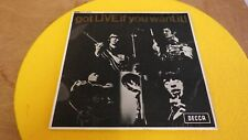 "The Rolling Stones, Got Live if you want it, 7"" Vinyl EP, Unboxed Decca EX/EX"