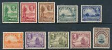 SG 81 - 90 Antigua 1932 set of 10 ½d - 10/- unmounted mint  CAT £225