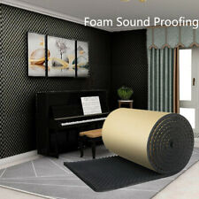 Auto Acoustic Egg Foam Sound Proofing Damping Deadening Mat Sheet 100*50*2cm
