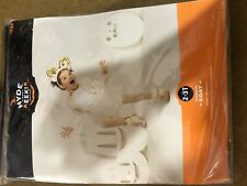 Toddler Goat Halloween Costume Dress (with Headband) 2T-3T