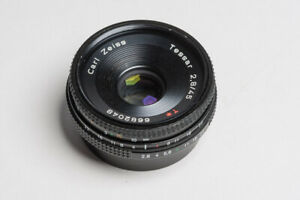 Carl Zeiss Tessar 2.8/45mm T* for Contax / Yashica Mount C/Y Pancake
