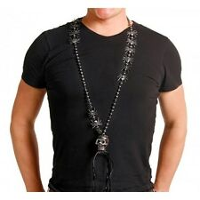 Necklace Spiders with Big Skull Gothic Halloween Unisex