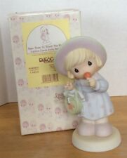 Precious Moments Figurine Take Time To Smell The Roses 634980C 1999