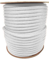 """ANCHOR ROPE DOCK LINE 1//2/"""" X 150/' BRAIDED 100/% NYLON BURGUNDY MADE IN USA"""