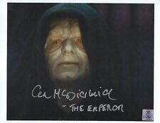 Ian McDiarmid - Star Wars signed photo
