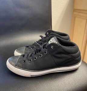 Converse All Star Black Sneakers Shoes Sz Youth 6