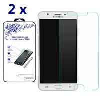 2x For Samsung Galaxy J7 Prime 2016 Ballistic Tempered Glass Screen Protector 9H
