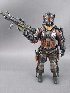 JOYTOY 1/18 Skeleton Force Twin Sickle - 1 SOLDIER Action figure w/ pulse rifle