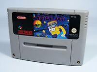 VIRTUAL BART für Super Nintendo - nur SNES Spiel Modul the simpsons