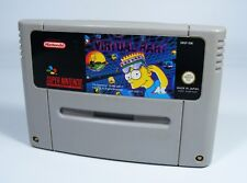 VIRTUAL BART pour Super Nintendo-seulement SNES Module The Simpsons