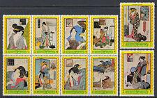 Manama 1971 ** Mi.861/68 A Gemälde paintings Eisen