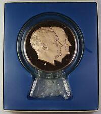 1973 Proof Franklin Mint Nixon Presidential Inaugural Large Bronze Medal