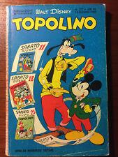 TOPOLINO N° 237 DEL 1960 COMPLETO DI BOLLINO E FIGURINE, BUONO/OTTIMO!