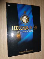 DVD N°6 LEGGENDA INTER 2010 LA STORICA TRIPLETTA TRICOLORE ALL'ULTIMO SORPASSO